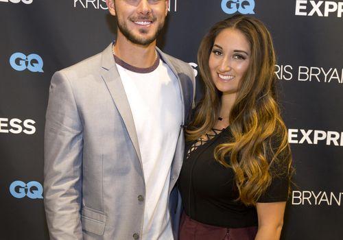 Kris Bryant and Jessica Delp