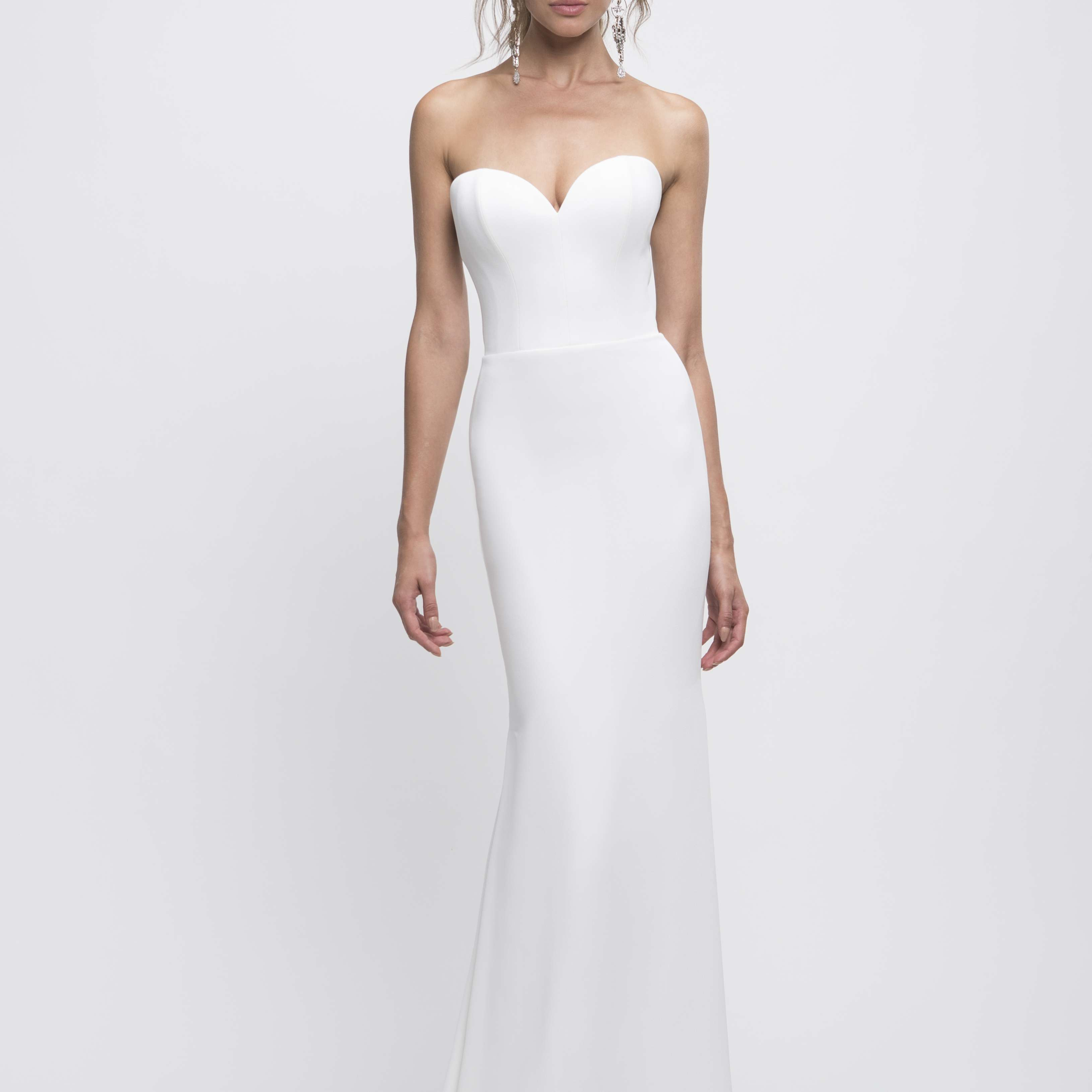 Brooklyn strapless wedding dress