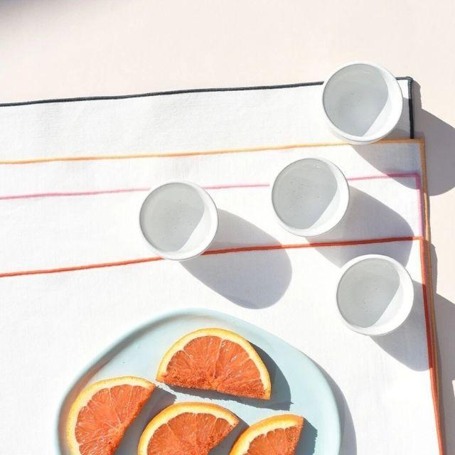 Atelier Saucier Rainbow Twill Napkin Set