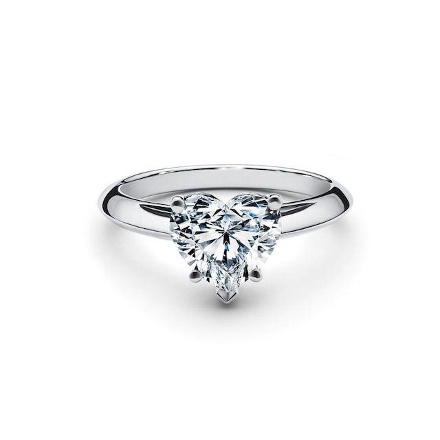Tiffany & Co. Heart-Shaped Diamond Engagement Ring
