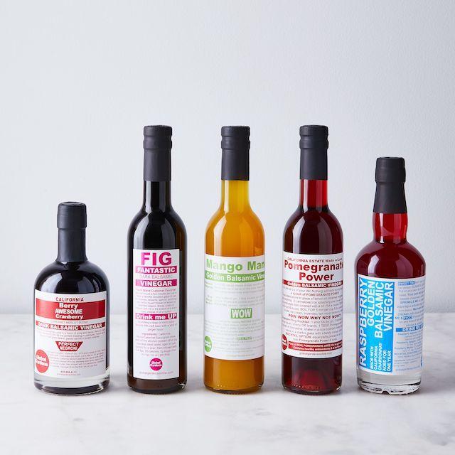 Fruit-Infused Balsamic Vinegars
