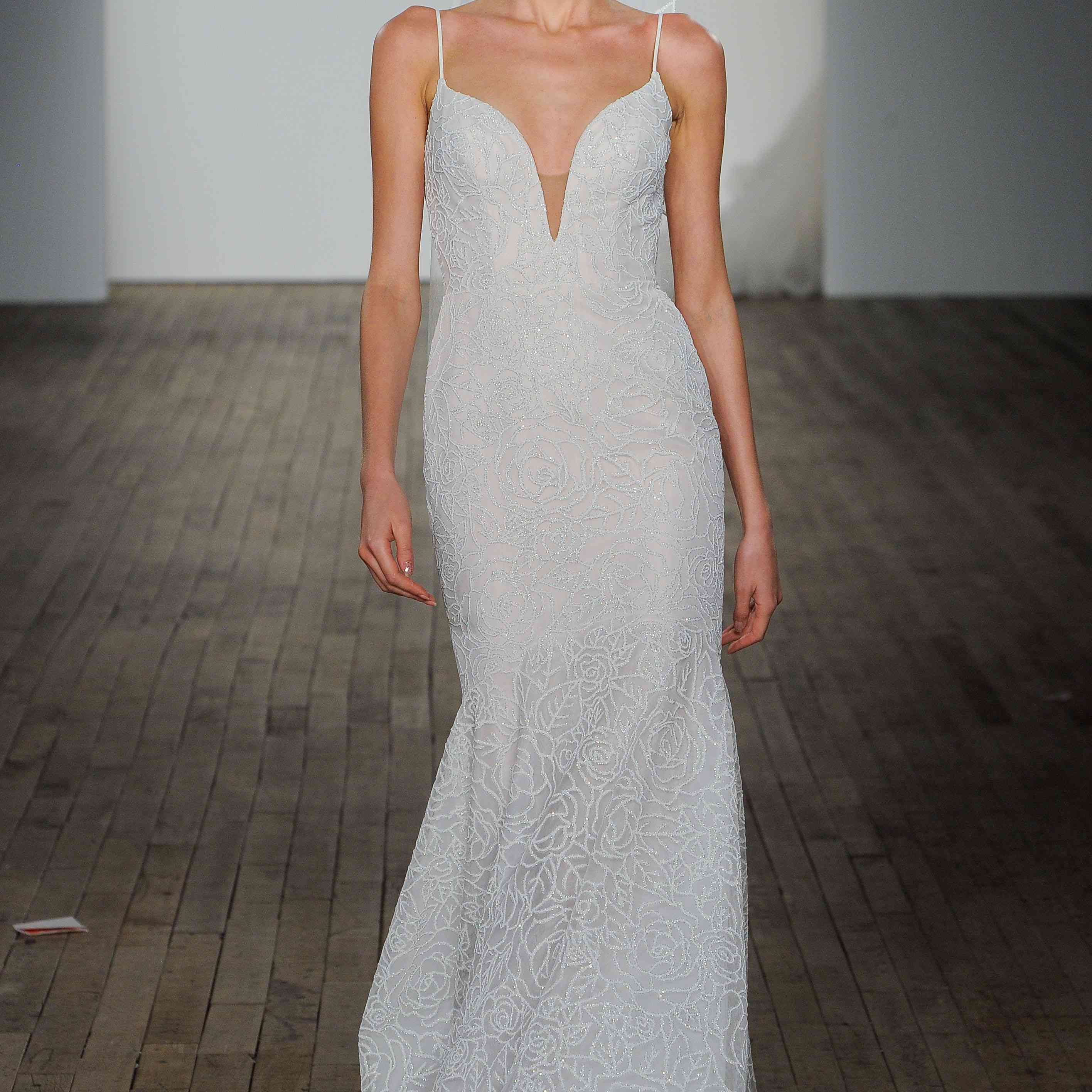 Finch fit-and-flare wedding dress