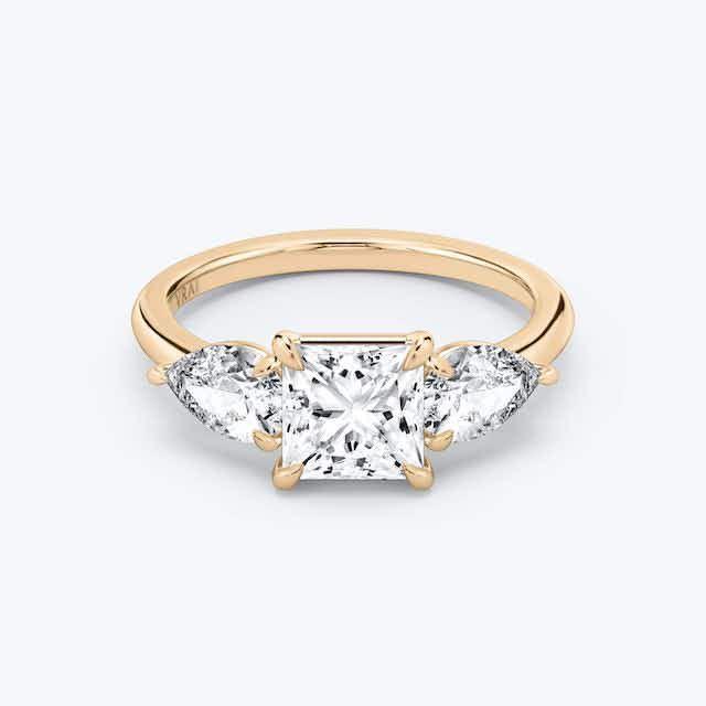 Vrai Princess Cut Ring