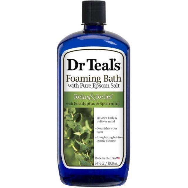 Dr. Teal's Eucalyptus and Spearmint Foaming Bath