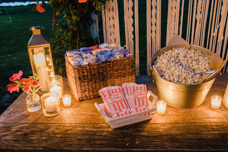drive-in-movie snacks
