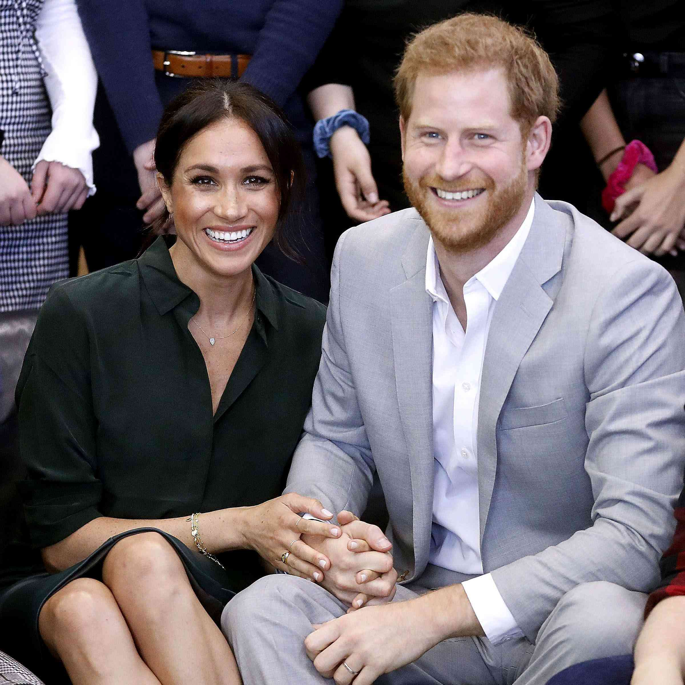Meghan Markle and Prince Harry Ditched Their Security to Snap That Forest Photo