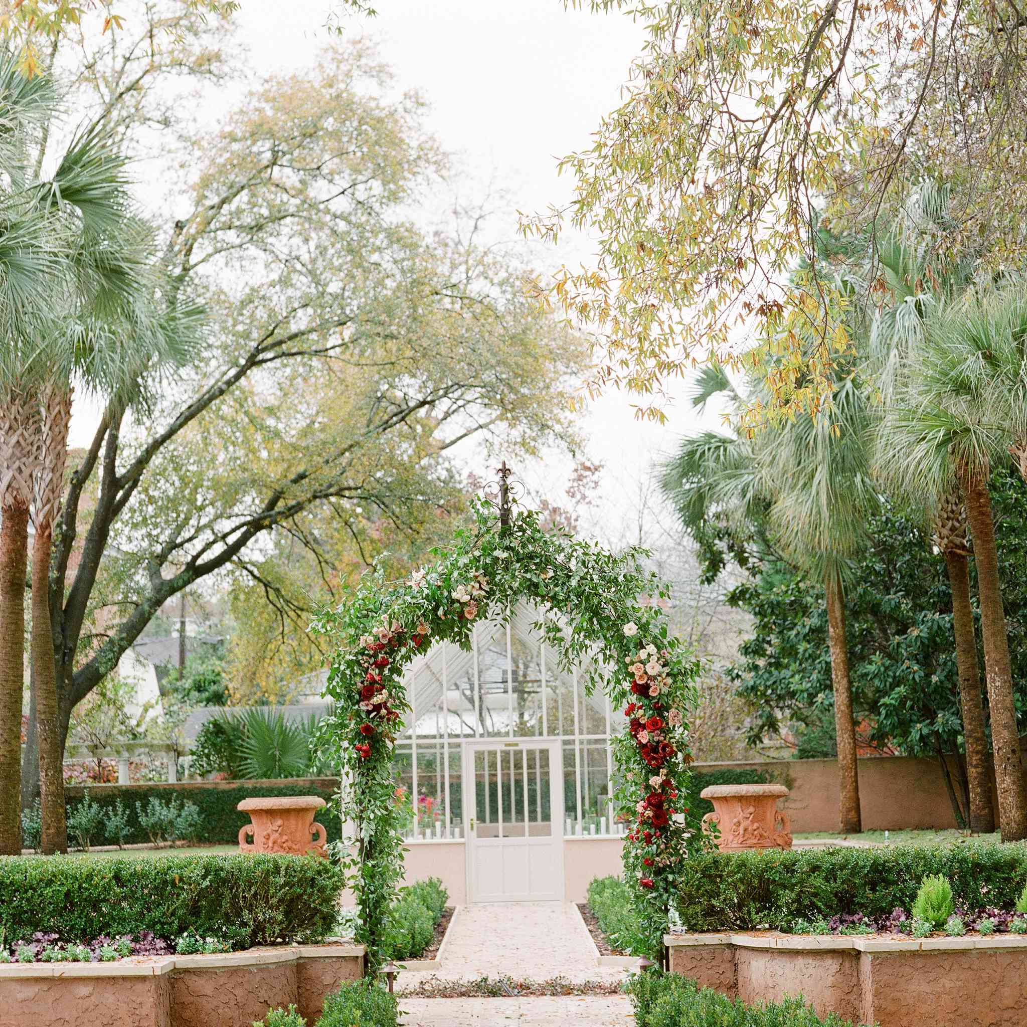 Archway of greenery