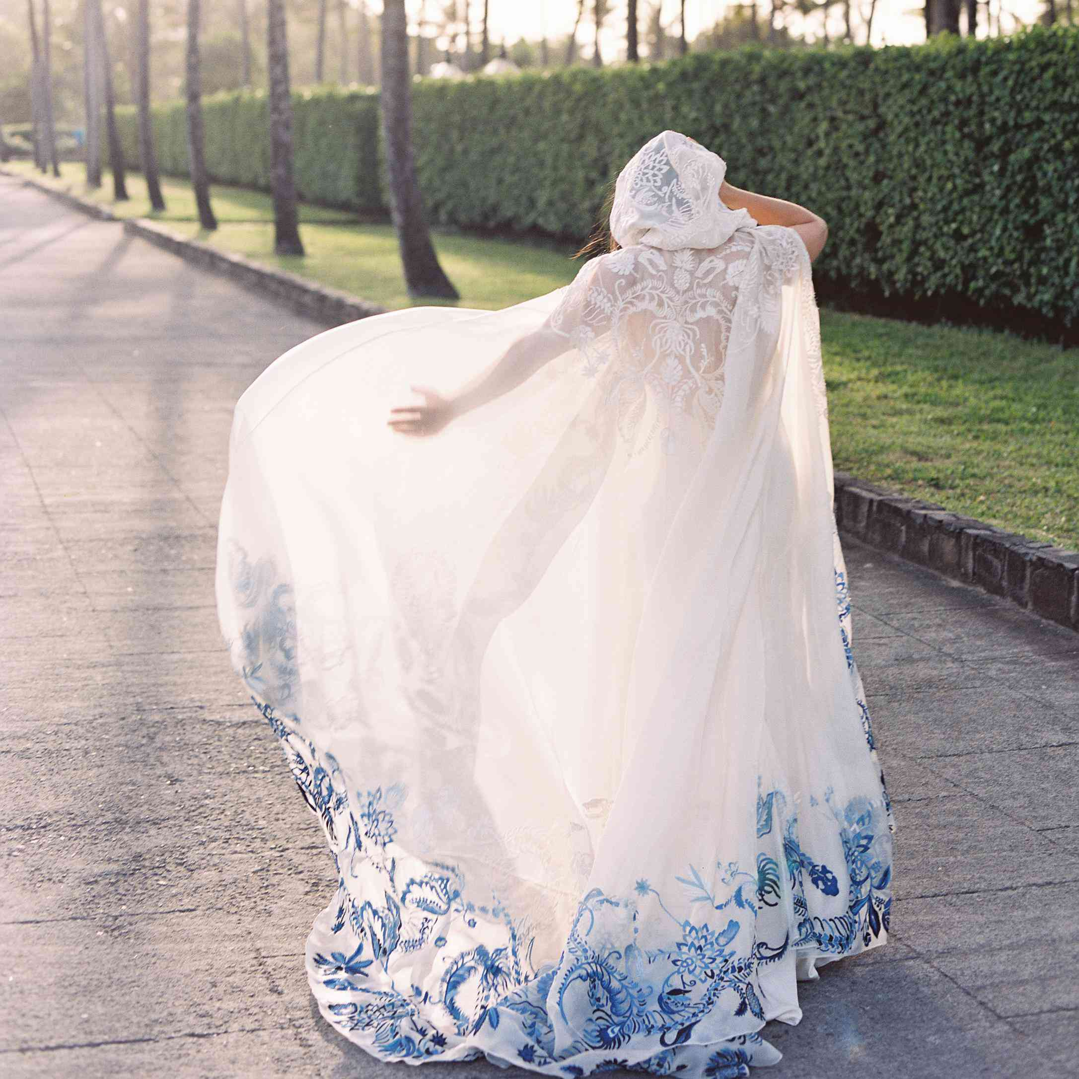 35 Bridal Capes For The Extra Bride