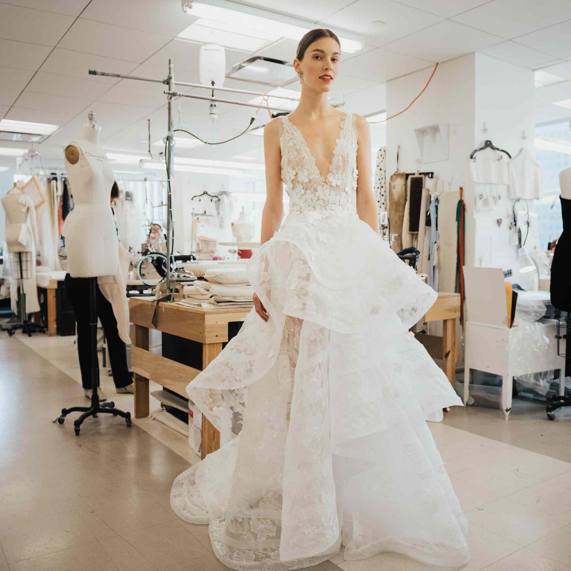 Oscar De La Renta Wedding Dresses.Oscar De La Renta Bridal Spring 2020