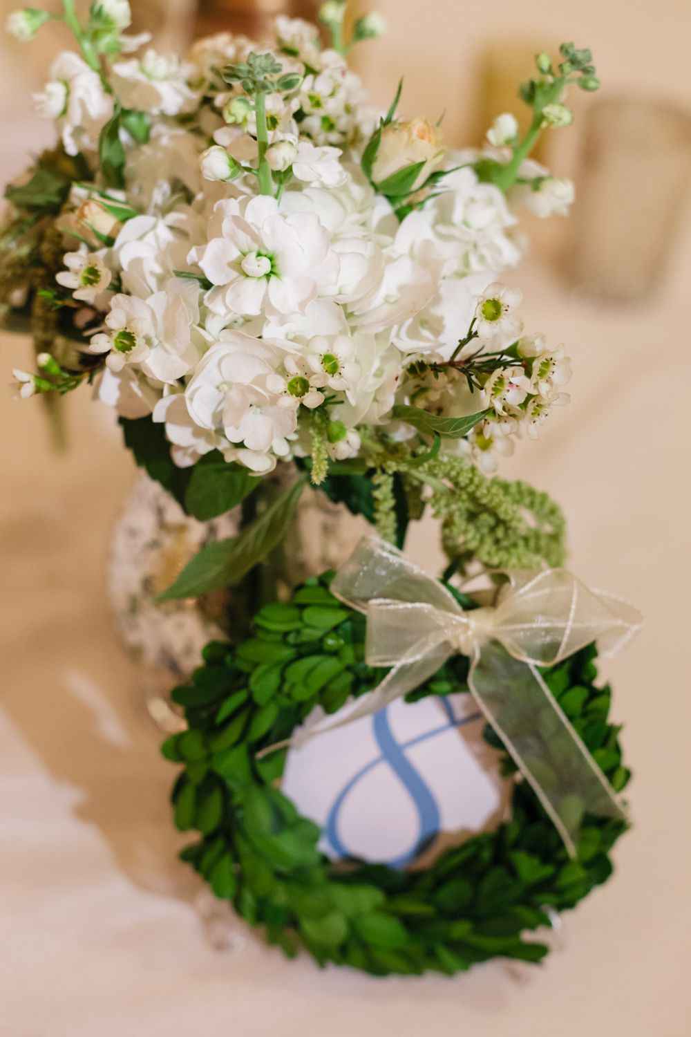 <p>Floral table number</p><br><br>