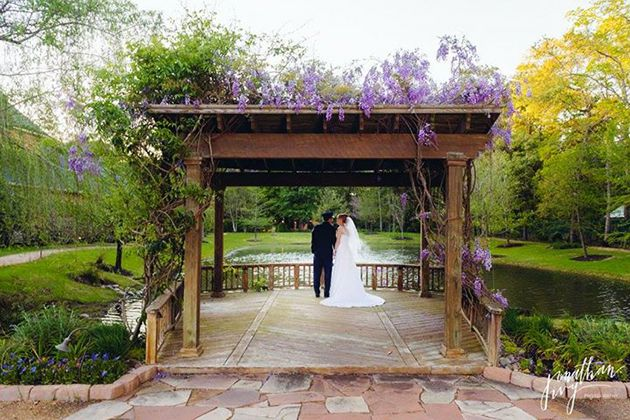 Brides Houston Houston S Best Venues For An Outdoor Wedding