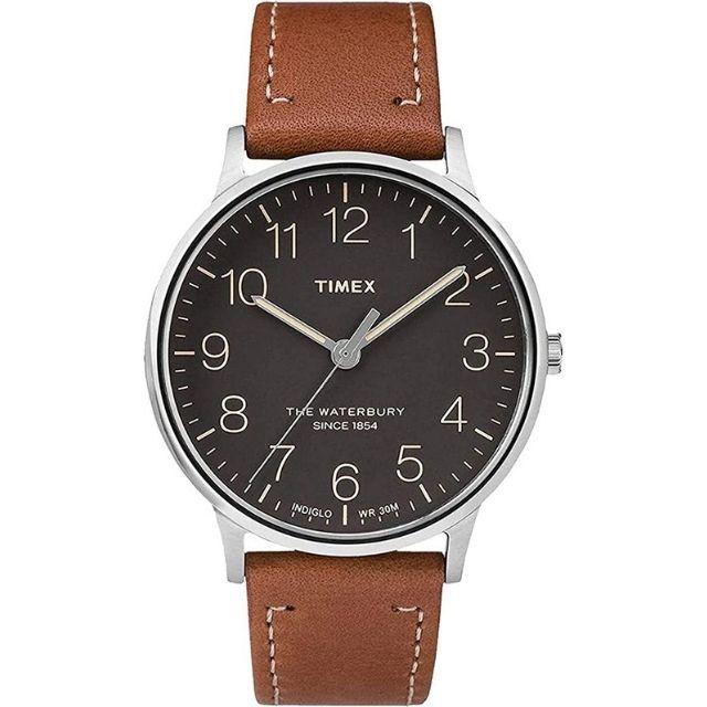Timex Waterbury 40 Engraved Watch