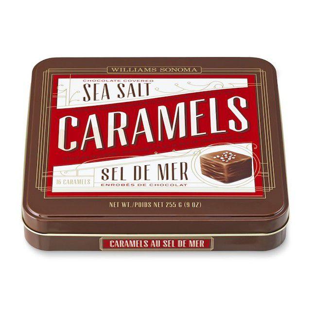 Williams Sonoma Chocolate Sea Salt Caramels