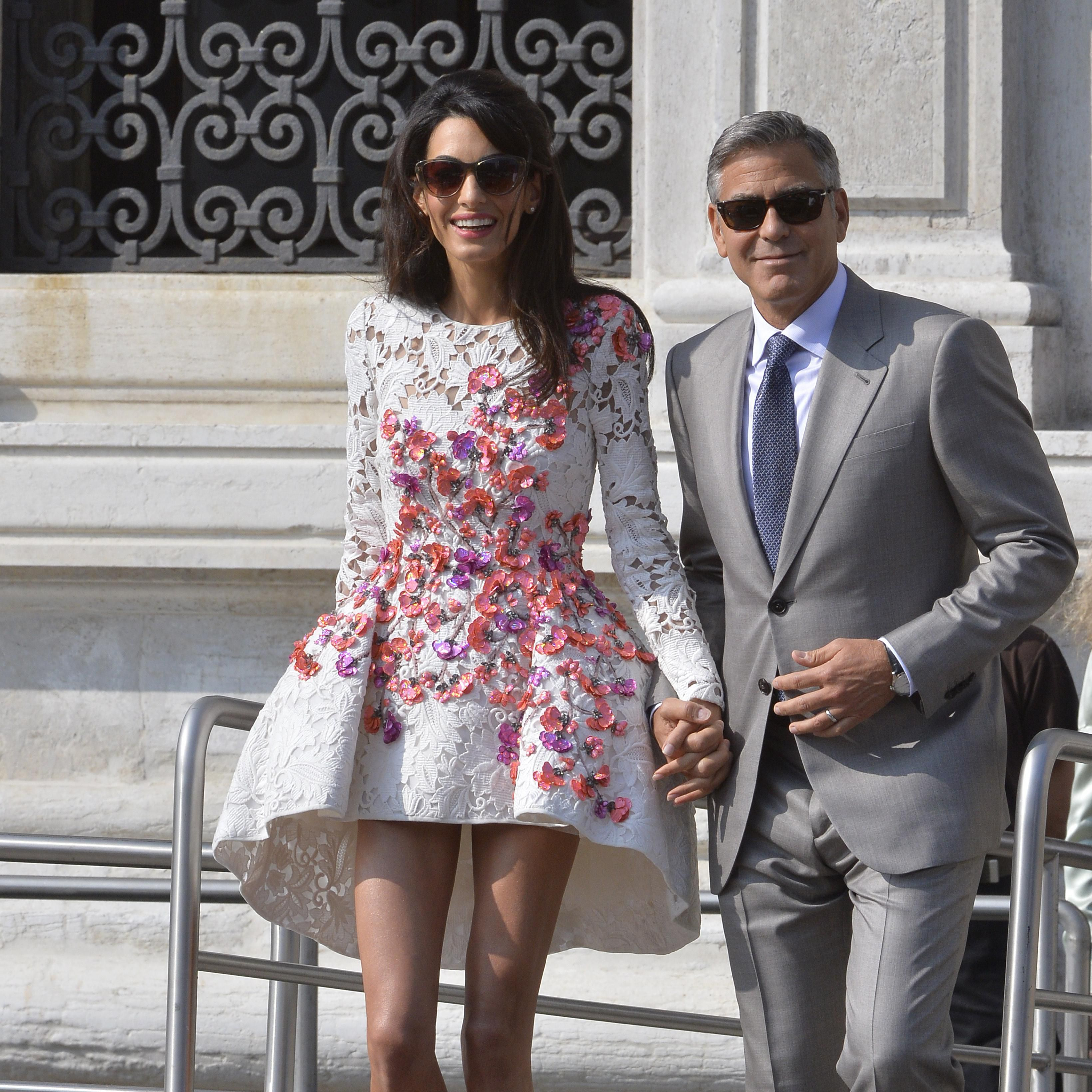 Happy 6 Year Wedding Anniversary Amal And George Clooney