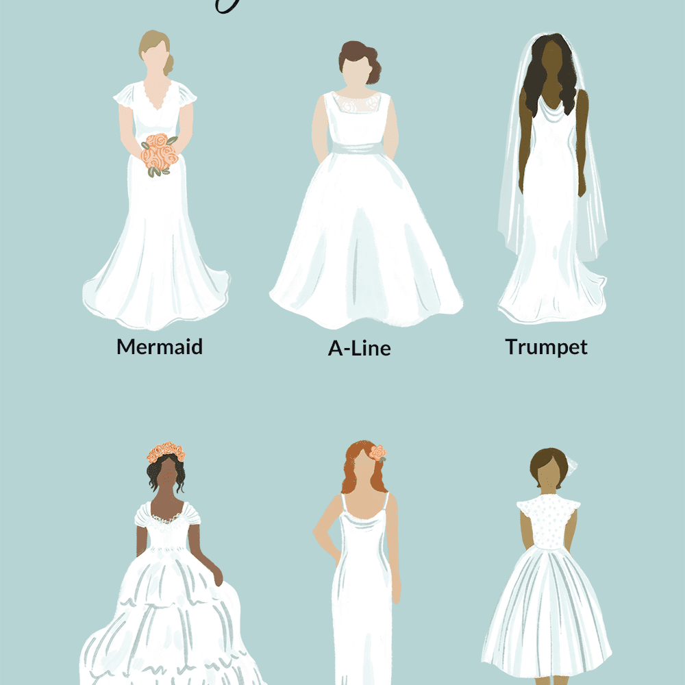 Silhouette Guide: The Best Wedding Dresses for Every Body Type