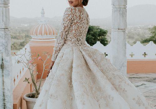 Diipa Khosla wedding gown