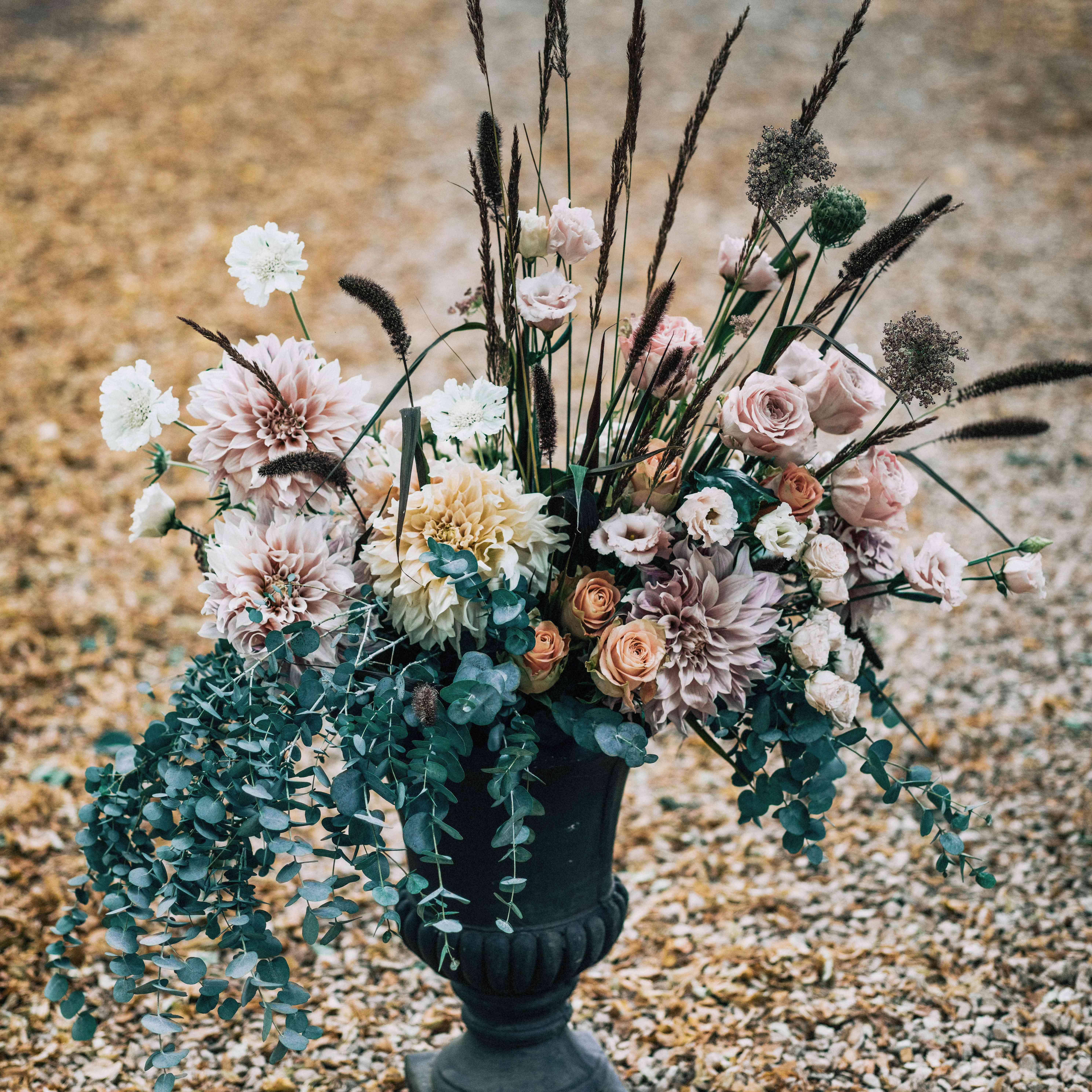 altar decor floral arrangements