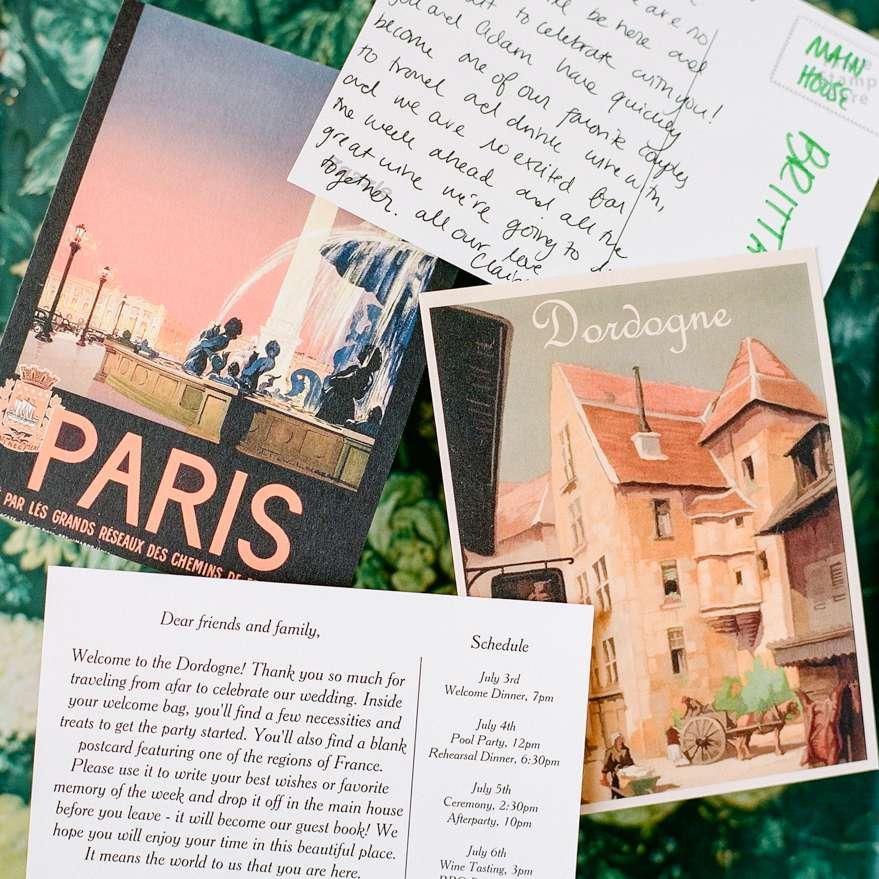 <p>invitation suite postcards</p><br><br>