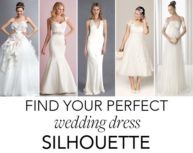 Wedding Dress Quiz.Quiz Alert Which Wedding Dress Silhouette Is Right For You