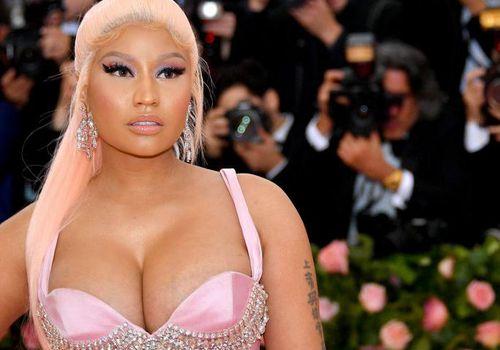 Nicki Minaj attends The 2019 Met Gala Celebrating Camp: Notes on Fashion at Metropolitan Museum of Art.