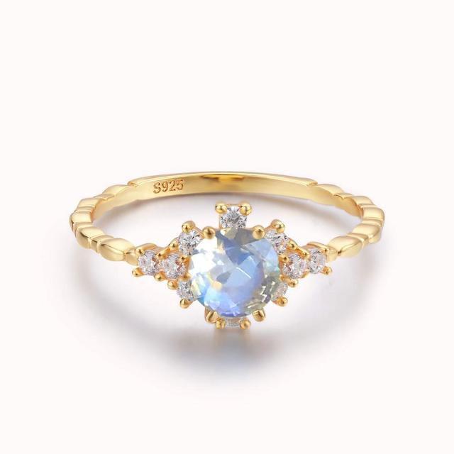 Azura Clarity Moonstone Ring
