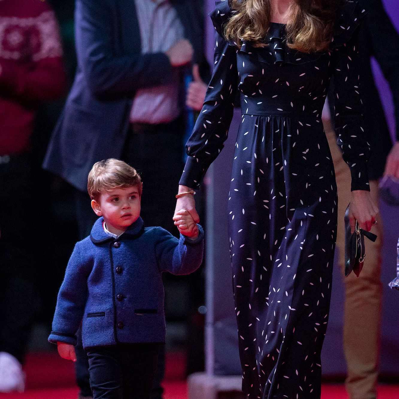 Prince Louis and mom Kate