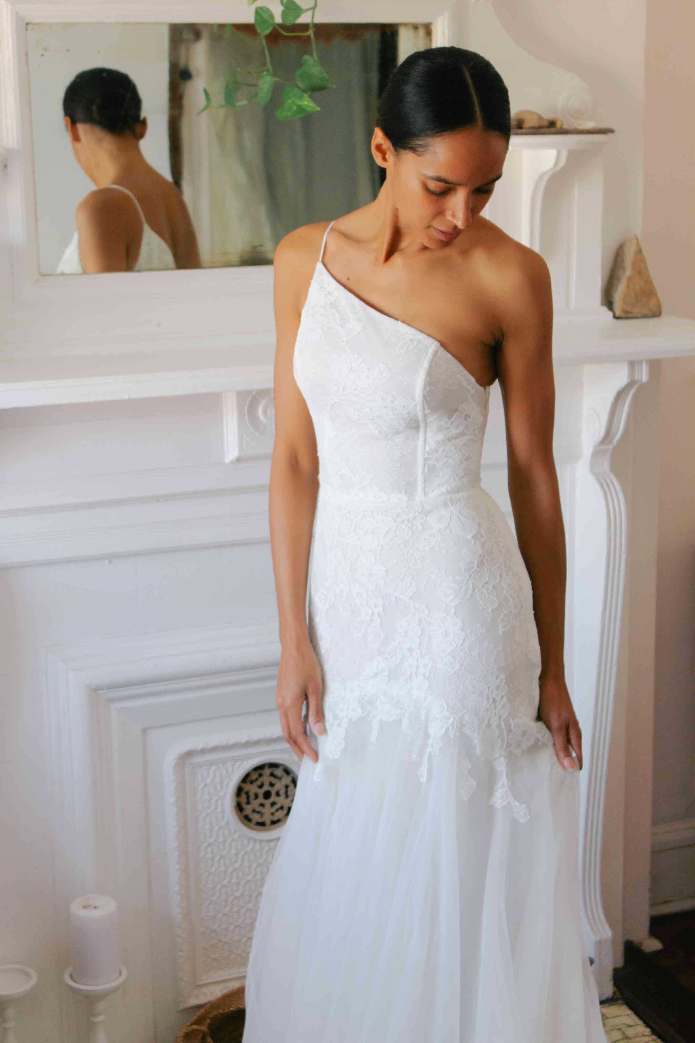 nouvelle amsale wedding dress