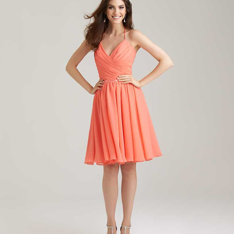 Coral Wedding Gowns: 16 Coral Bridesmaid Dresses For A Spring Or Summer Wedding