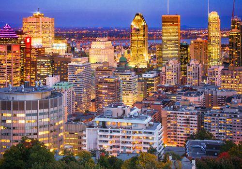 <p>Montreal Skyline</p>
