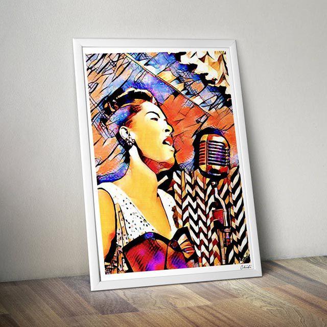 Billie Holiday print