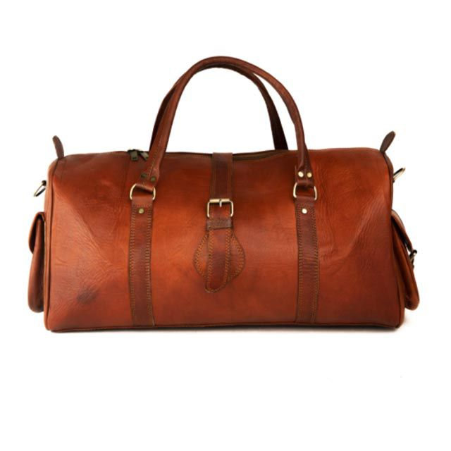 Made Leather Company leather duffle