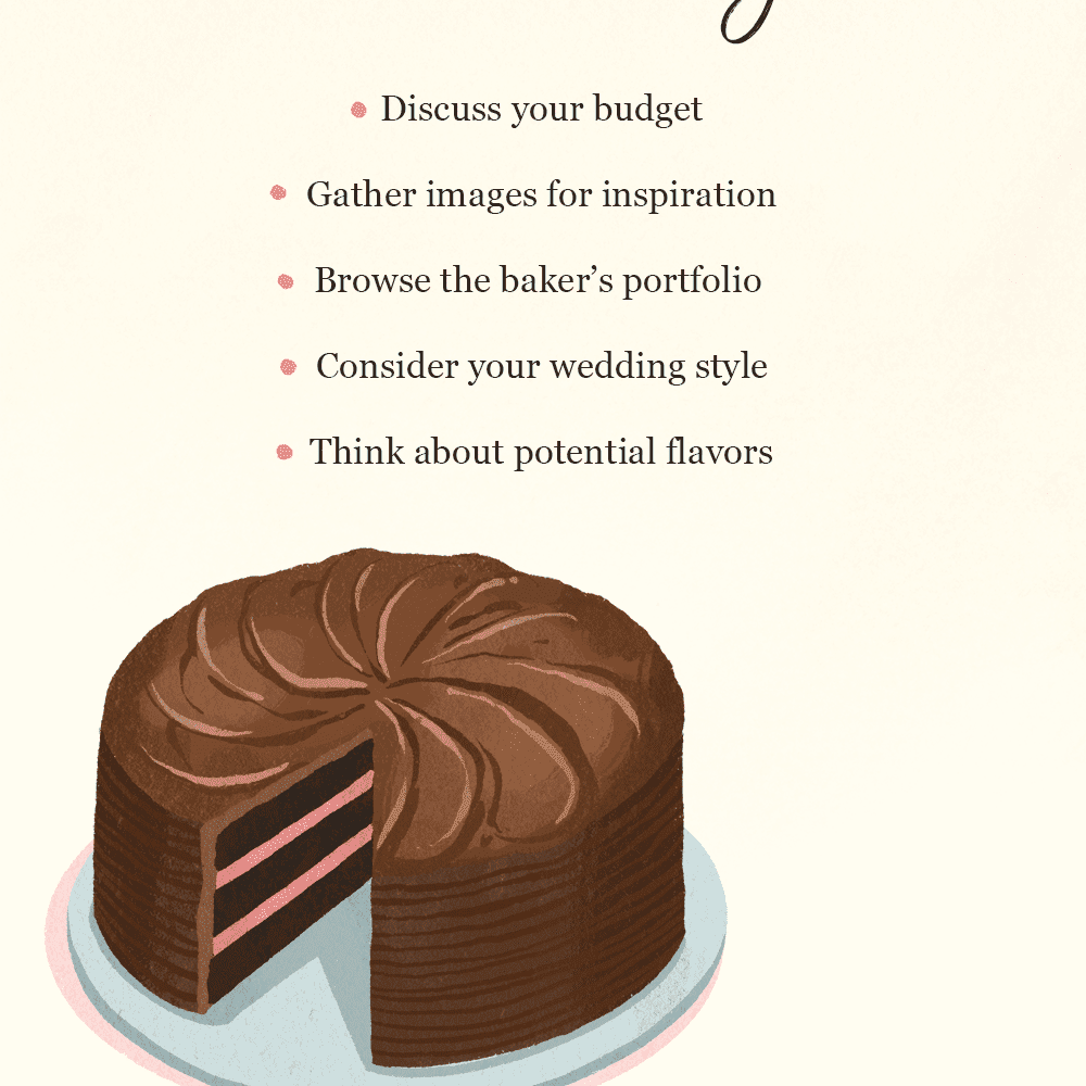 What Really Happens At A Cake Tasting