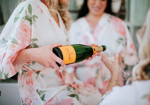 Getting Ready with Your Bridal Party