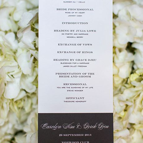 32 Wedding Ceremony Programs You'll Love