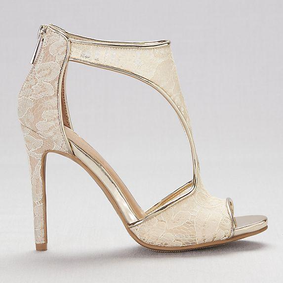 Anne Michelle Ladies Pearl Trim Mule Sandals
