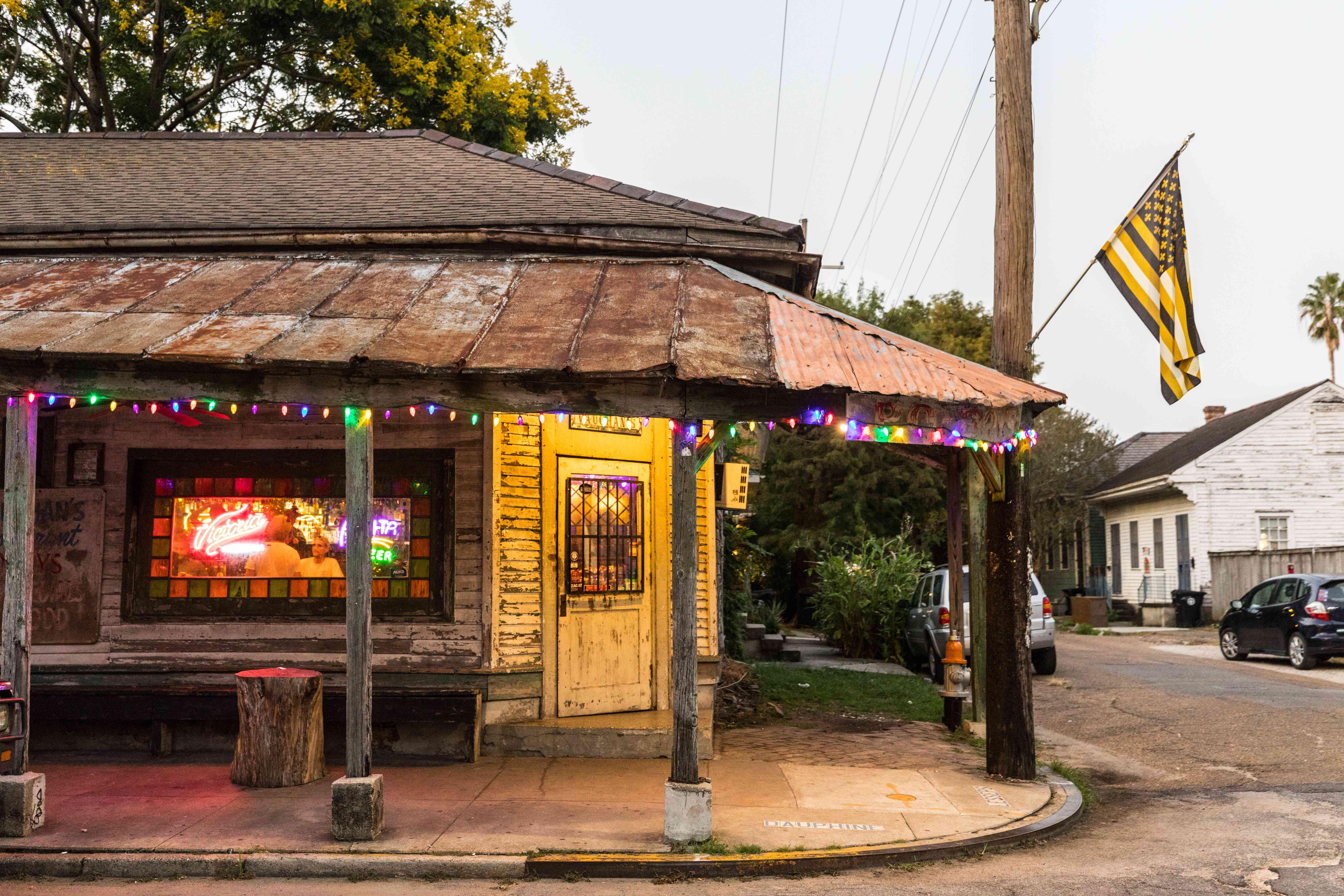 A corner in the Marigny neighborhood of New Orleans