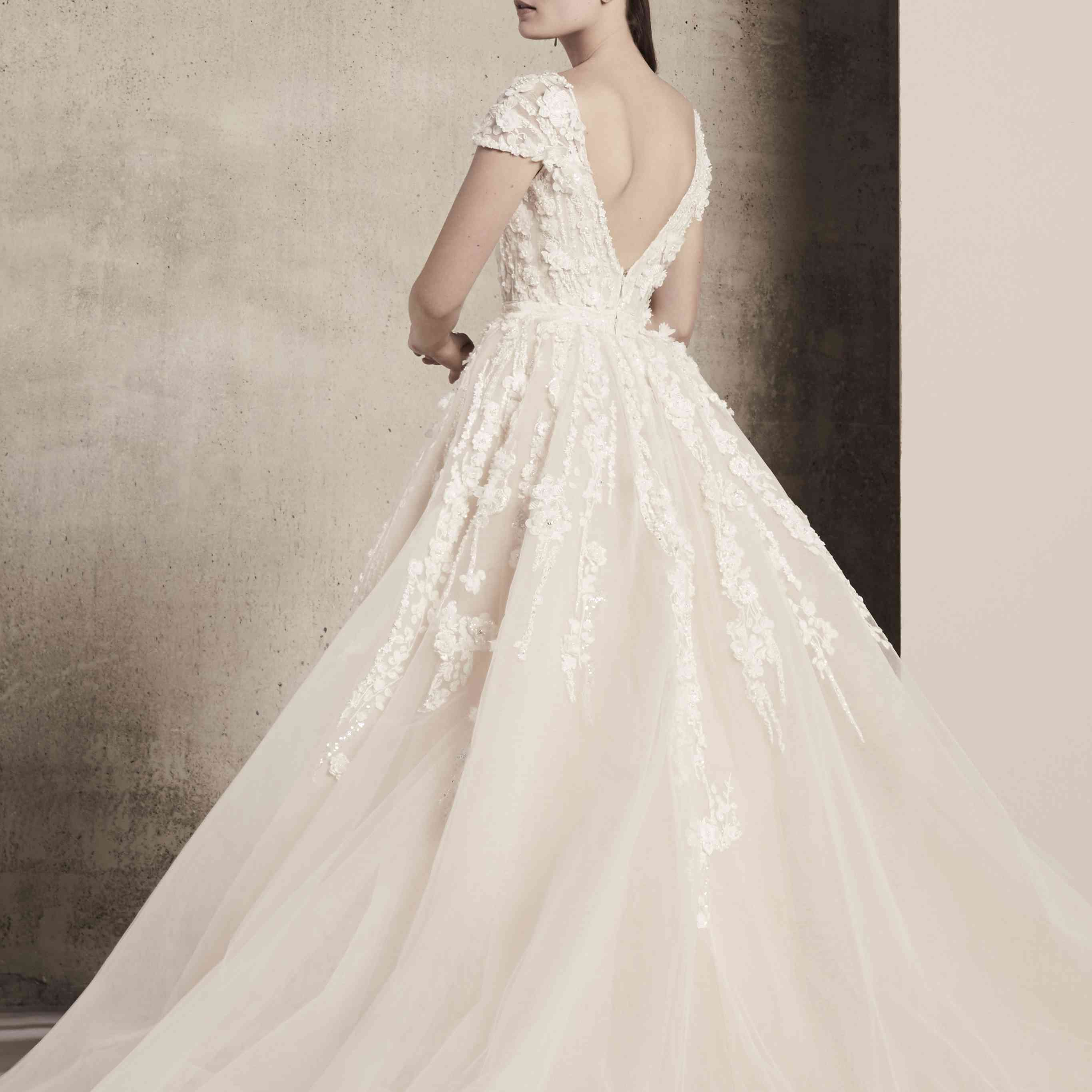 Elie Saab Wedding Dresses.Elie Saab Bridal Spring 2018