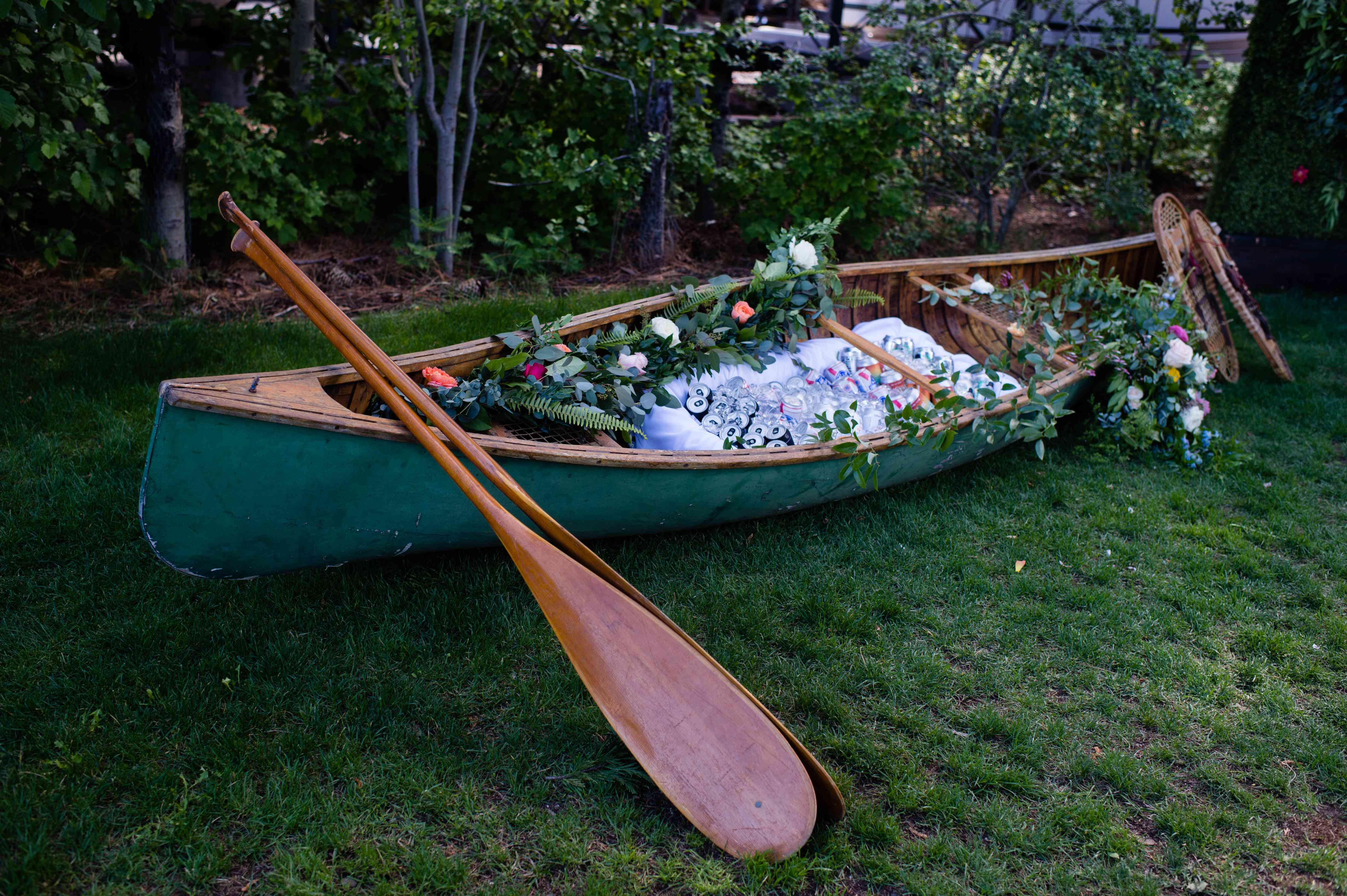 canoe of beer