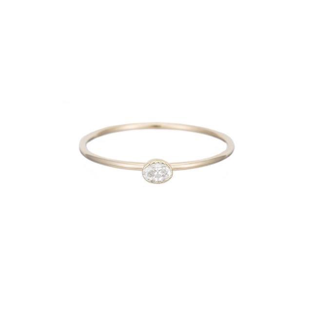 Jennie Kwon Designs Diamond Disc Ring
