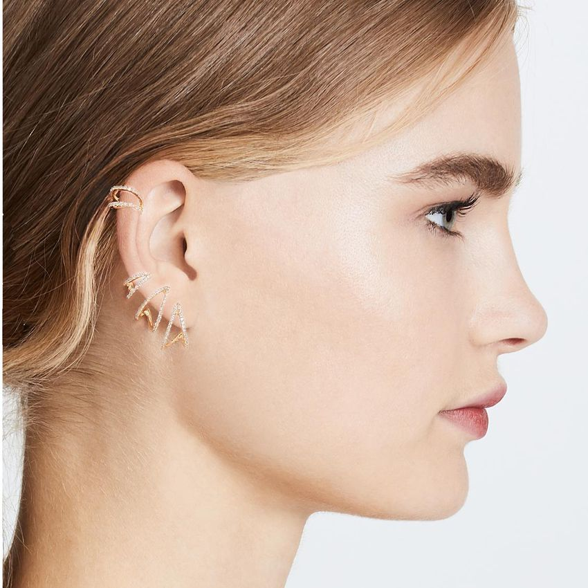 Joanna Laura Constantine earrings for brides