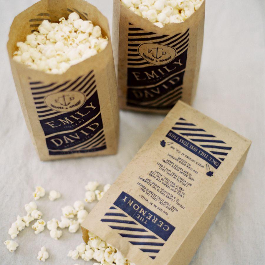 Bags of popcorn.
