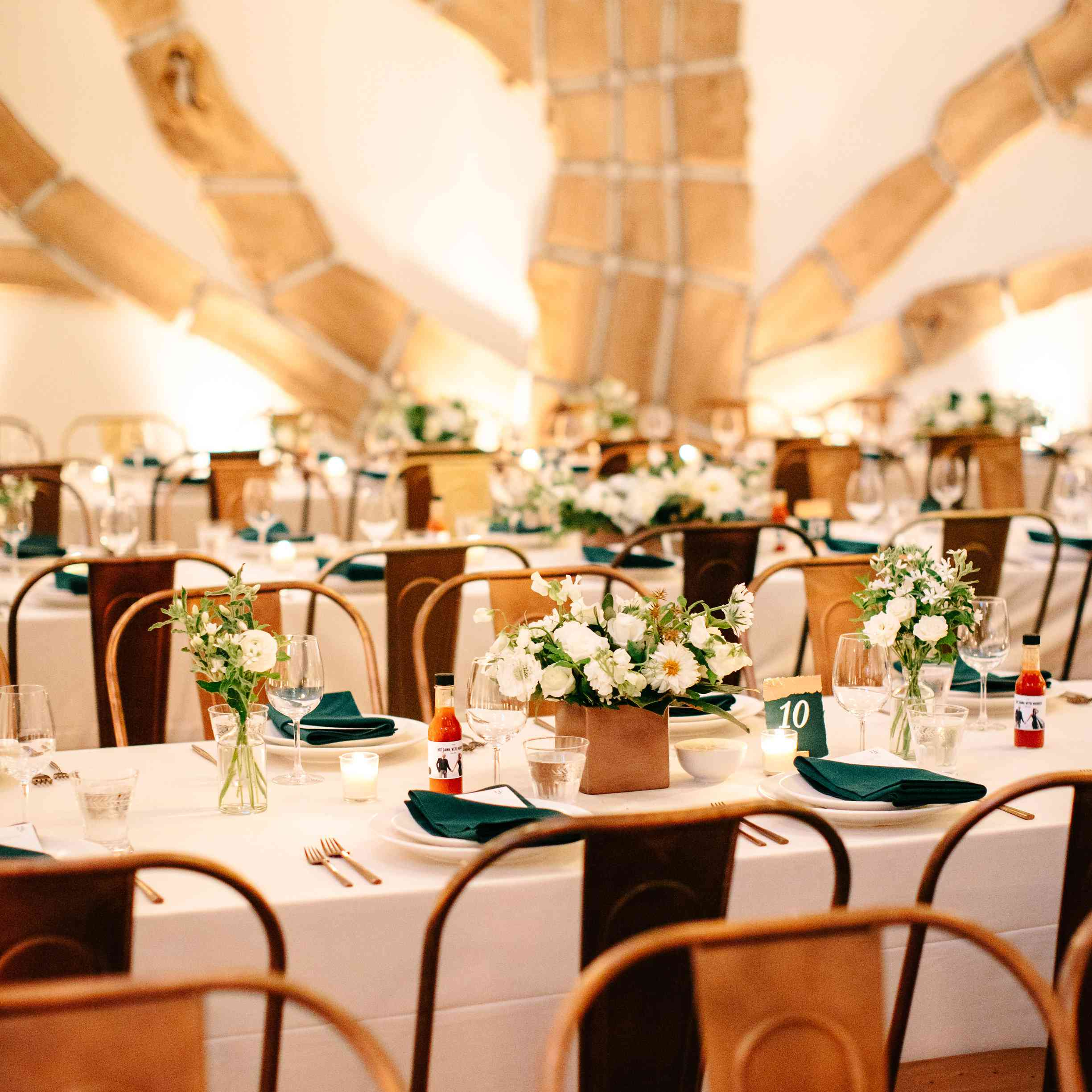 Wedding seating tablescape