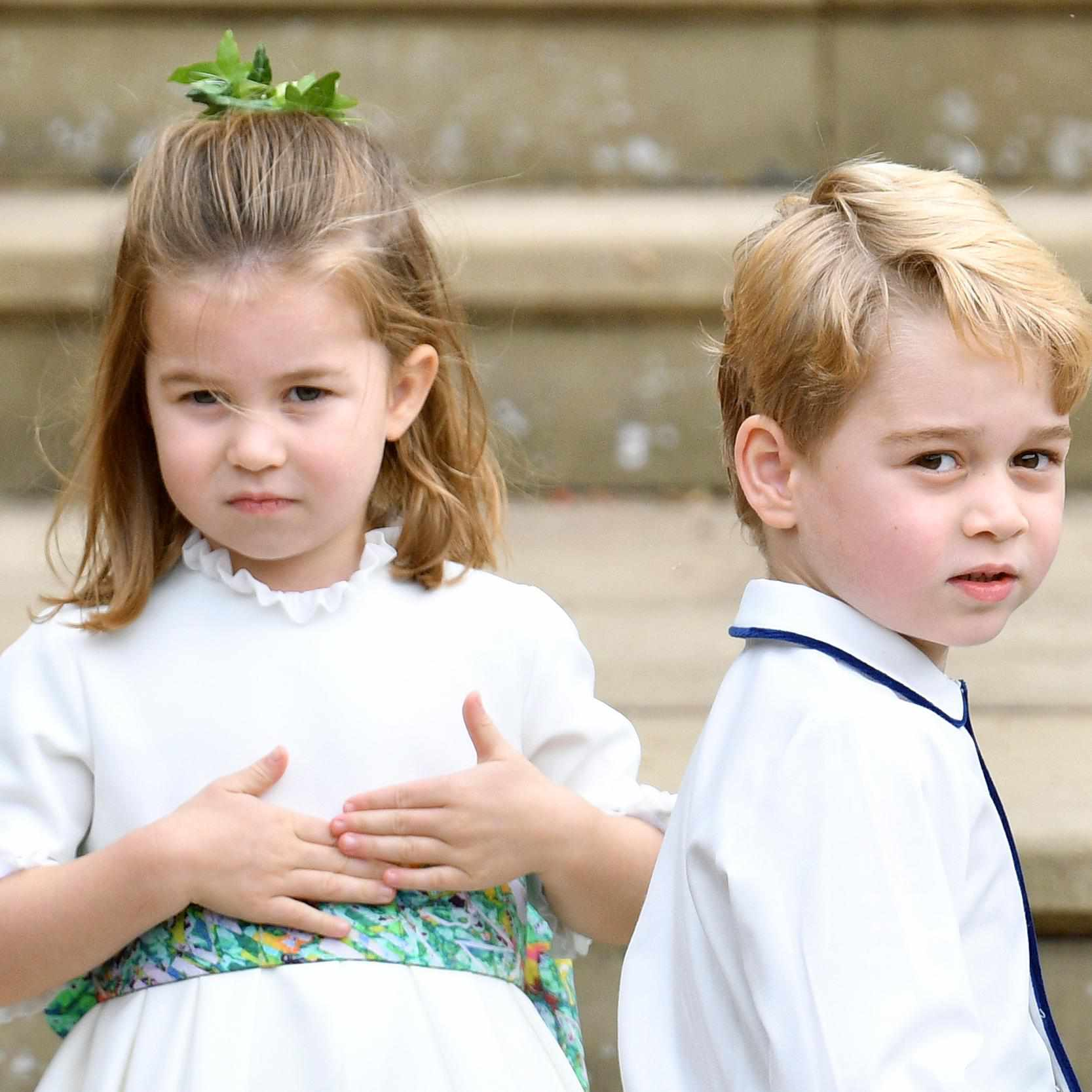 Prince George and Princess Charlotte Will Serve As Bridal Attendants In The Wedding Of Thomas van Straubenzee to Lucy Lanigan-O'Keeffe