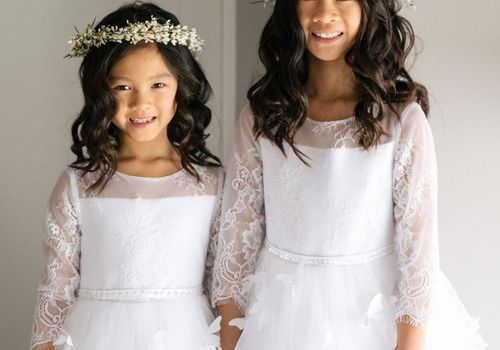 20 Adorable Flower Girl Hairstyles