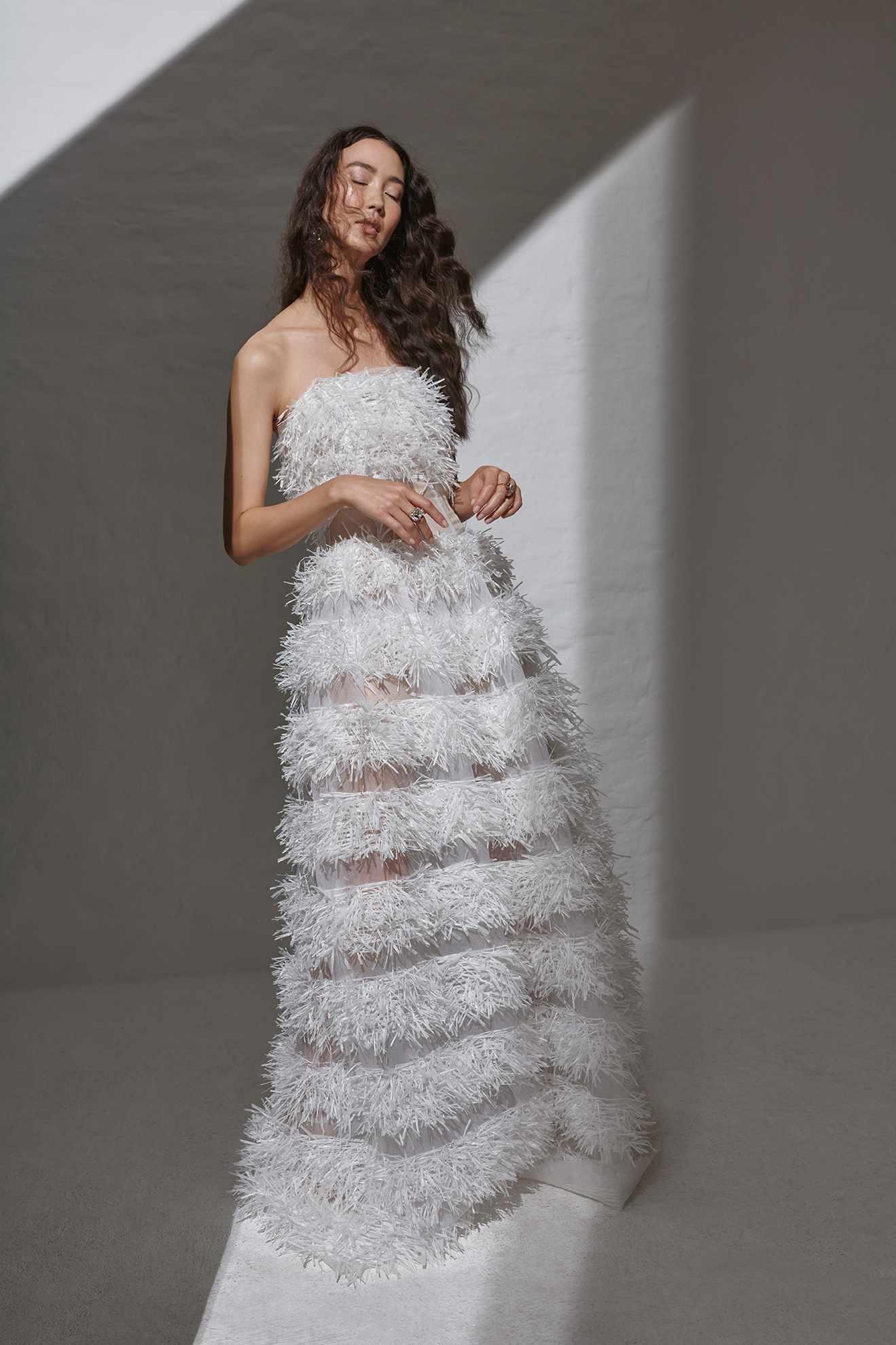 Thorn Corsage Dress Kaviar Gauche