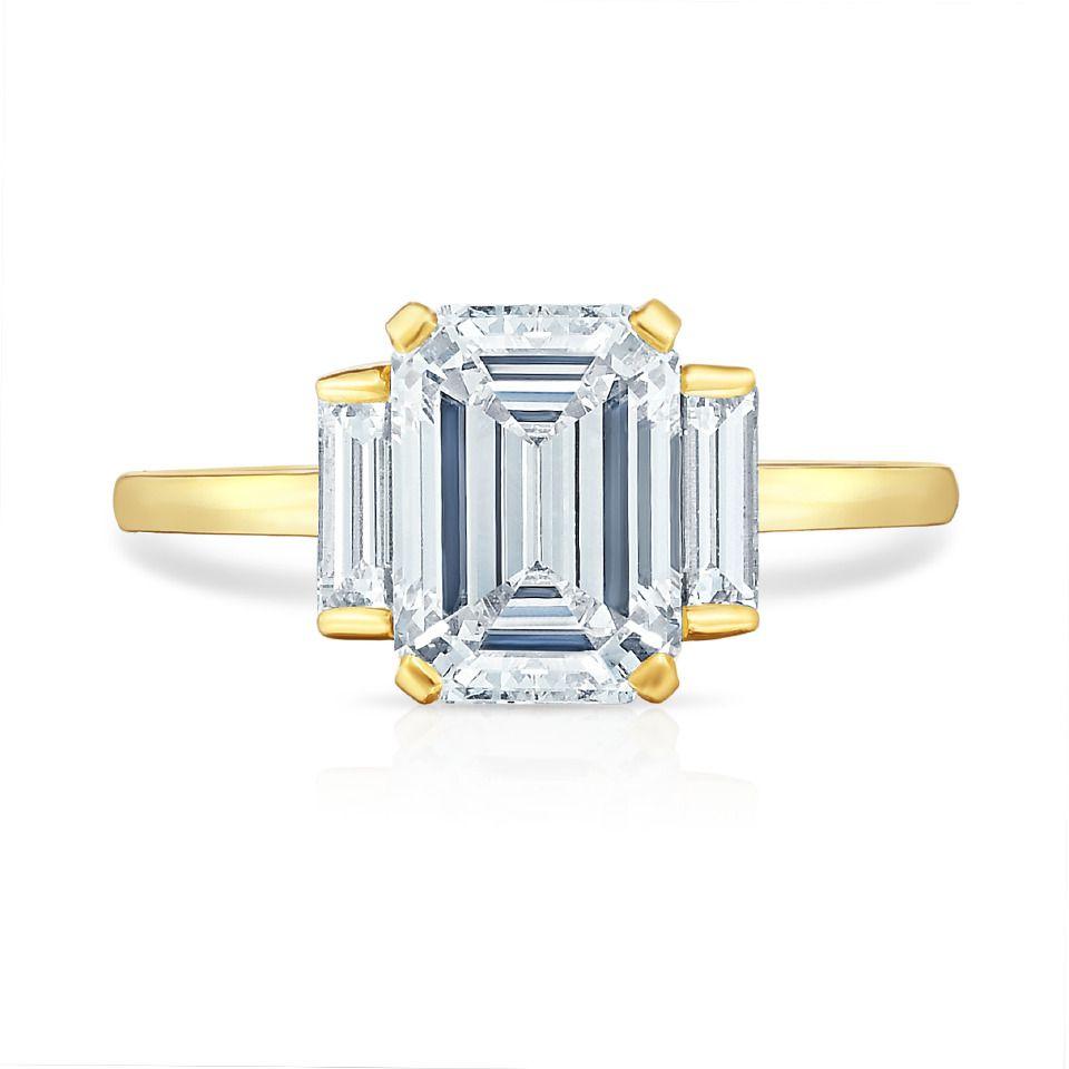 Marisa Perry by Douglas Elliott The Rosie Ring 18K Yellow Gold