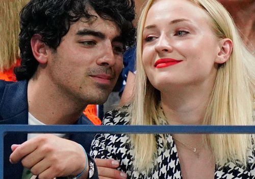 Joe Jonas and Sophie Turner attend the 2018 US Open