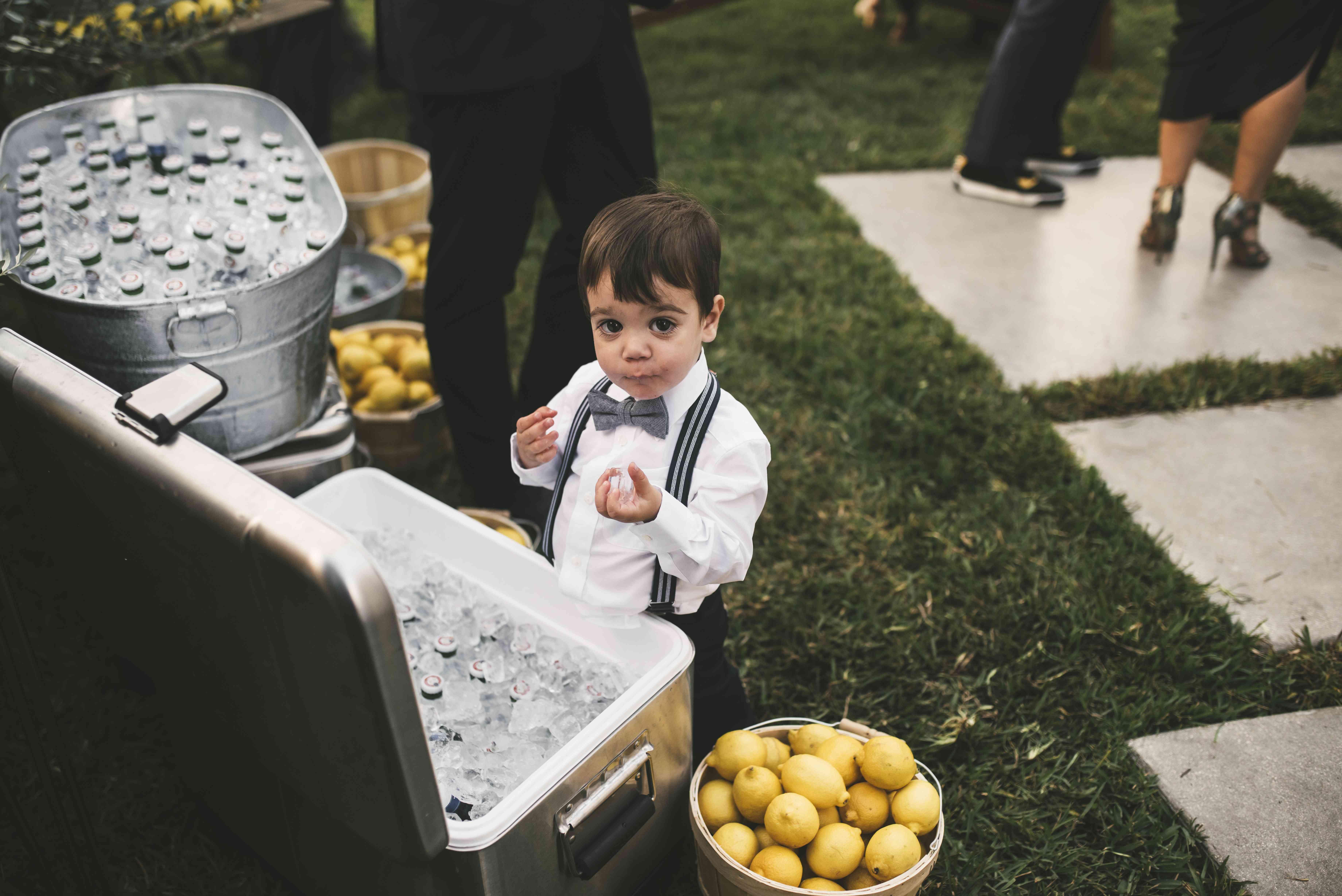 kid friendly wedding
