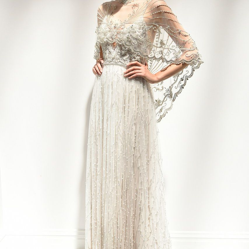 The Coolest Wedding Dress Cover-Ups Straight Off The