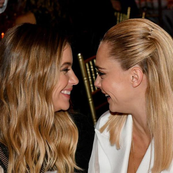 shley Benson and Cara Delevingne attend TrevorLIVE NY 2019 at Cipriani Wall Street.